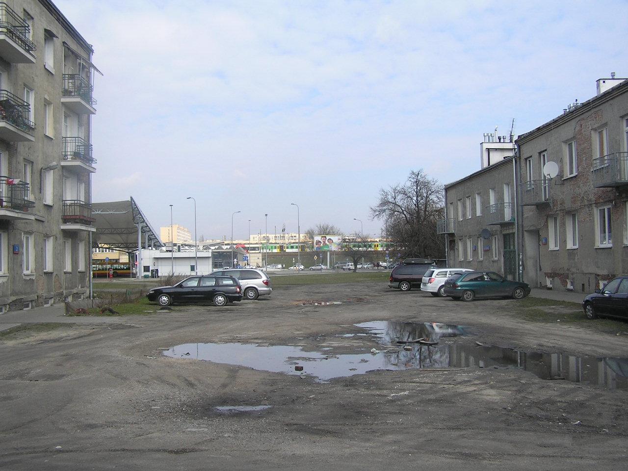 Ulica przed przebudową