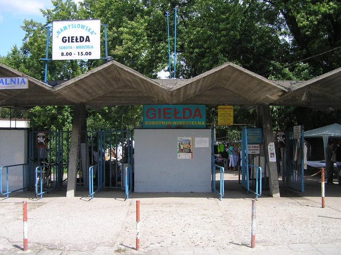 Wejście na giełde przy Namysłowskiej