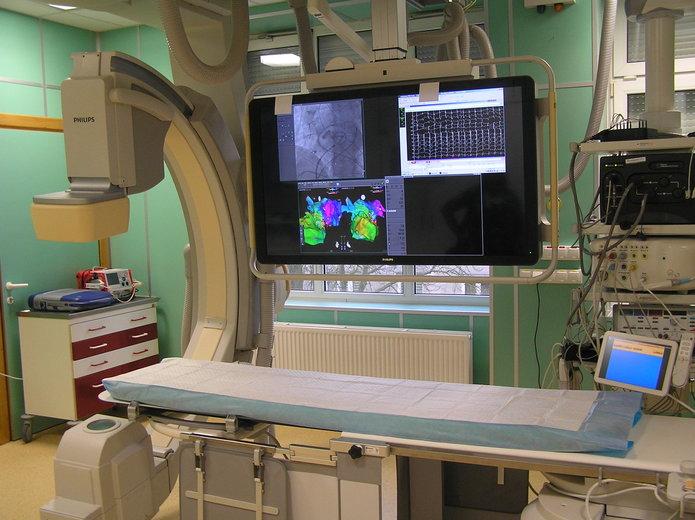 Nowego angiograf wszpitalu