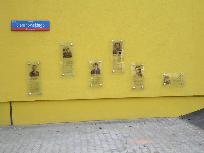 Tablice informacyjne oŻołnierzach Wyklętych