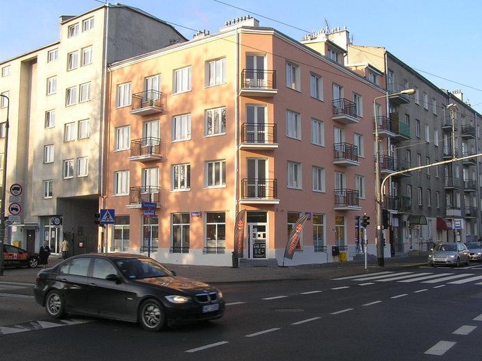 Grochowska 255 znową elewacją