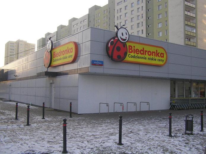 Biedronka przy Witolińskiej