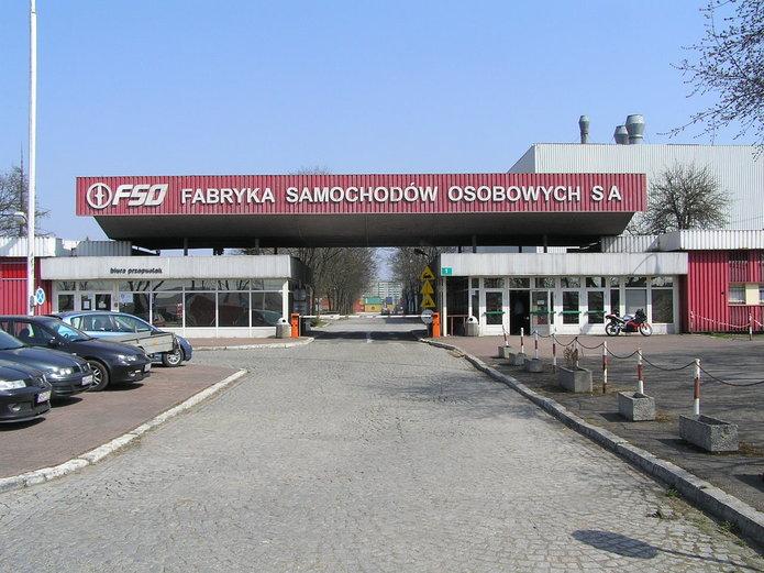 Wejście do FSO na Żeraniu