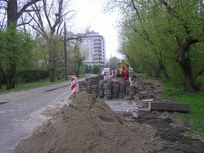Trwa remont na Podolskiej
