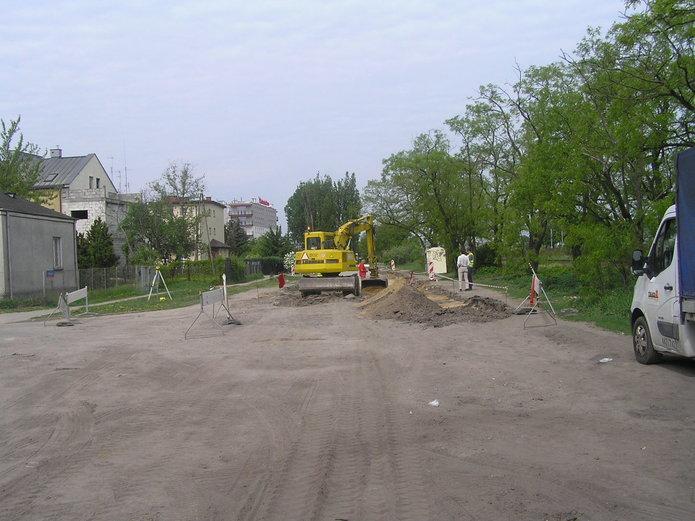Remont ulicy Makowskiej