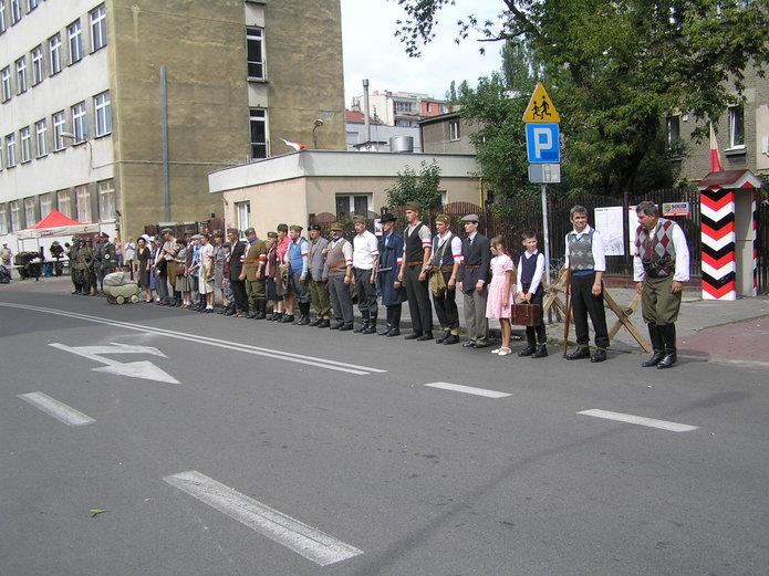 Inscenizacja powstańcza na Brzeskiej