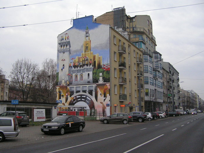 Mural Niepodległość na Grochowie