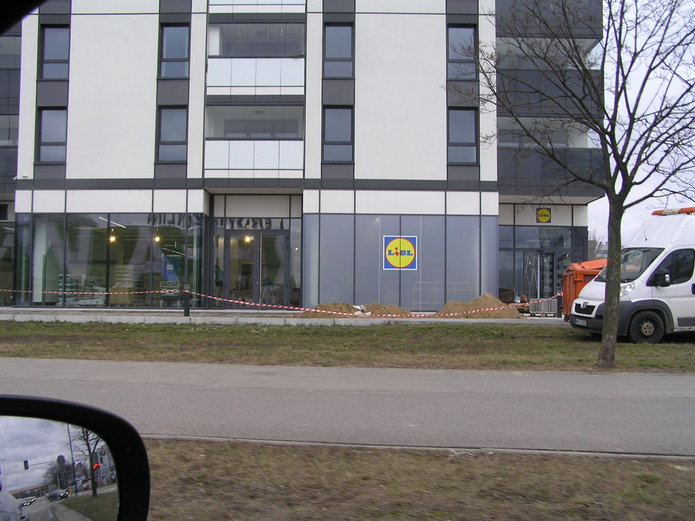 Nowy Lidl przy Osiedlu Ostrabramska