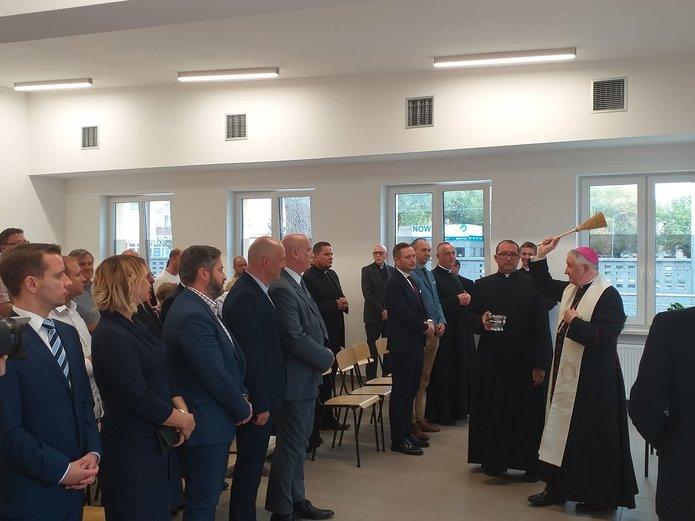 Otwarcie punktu Caritas przy Grochowskiej 111/113