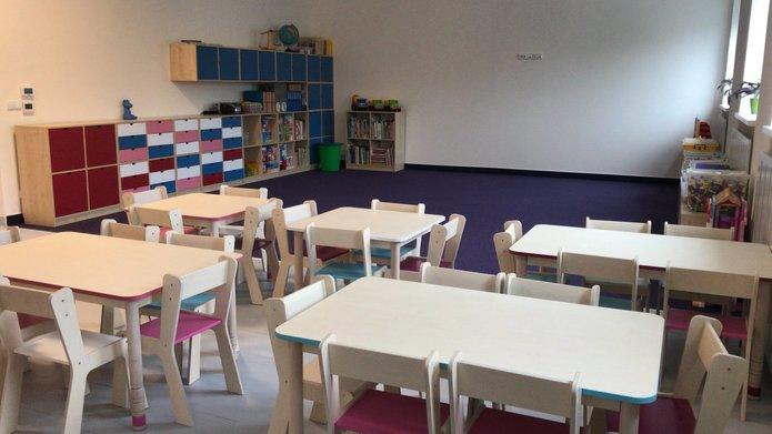 Wnętrza przedszkolna nr 163