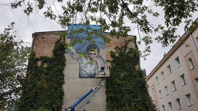 Mural Stachury na Grochowie