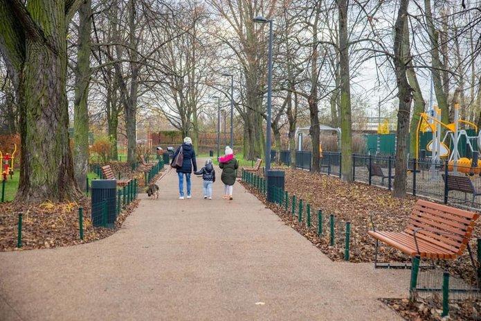 Park Michałowski już otwarty