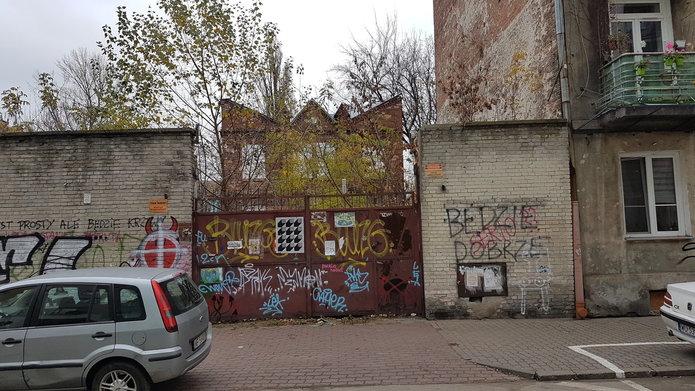 Dawny budynek fabryczny przy Strzeleckiej