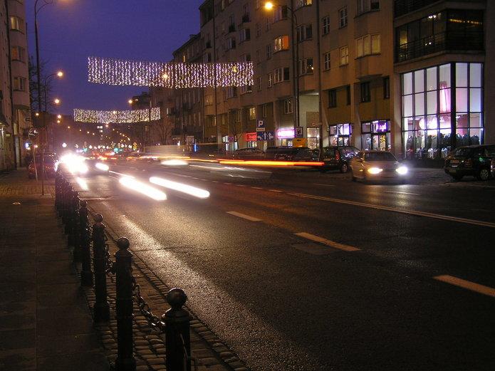 Praga bez iluminacji w2020 roku