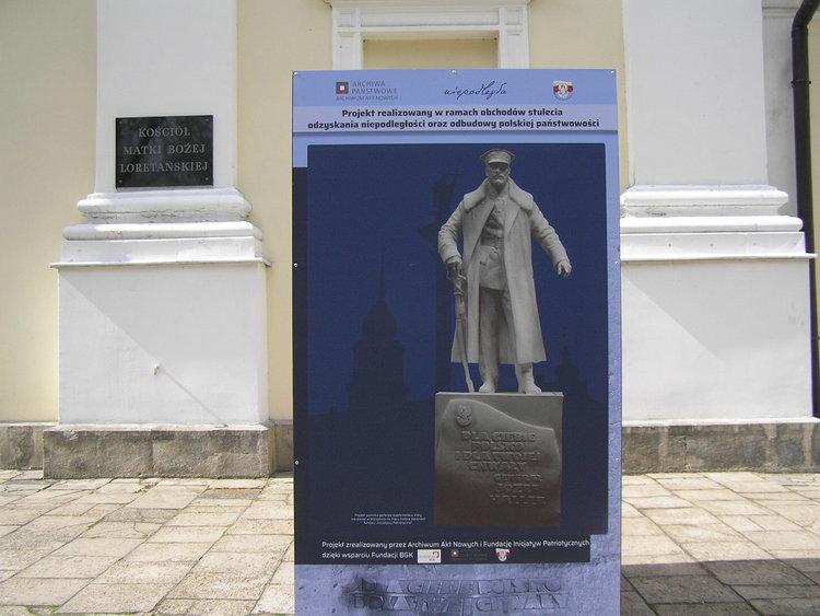 Wizualizacja pomnika gen. Józefa Hallera