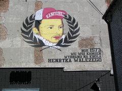 Mural Henryk Walezy - Mińska 33