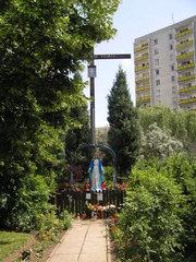 Fieldorfa róg Bora-Komorowskiego - Krzyż drewniany