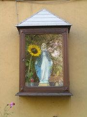 Szwedzka 11 - kapliczka drewniana