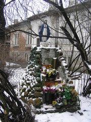 Targowa 14 - Figura Matki Bożej