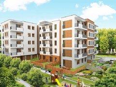 Apartamenty Osiedka - wizualizacja mat. Investora