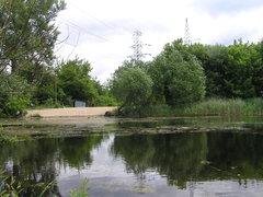 Jeziorko Kozia Górka wWarszawie