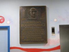 Tablica Jana Bognanowicza wWarszawie