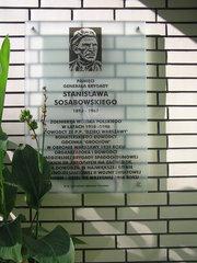 Tablica pamięci gen. Stanisława Sosabowskiego