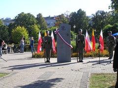 Tablica upamiętniająca 6-XXVI Obwód Praga Armii Krajowej
