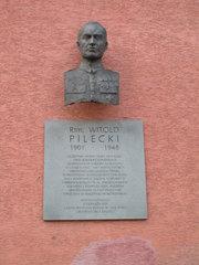 Popiersie Witolda Pileckiego