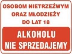 Alkohol od 18 lat