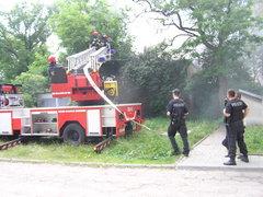 Grochowska 290 - pożar