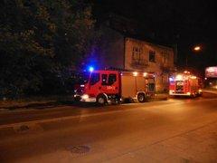 Pożar na Wiatracznej. fot. www.warszawa-straz.pl