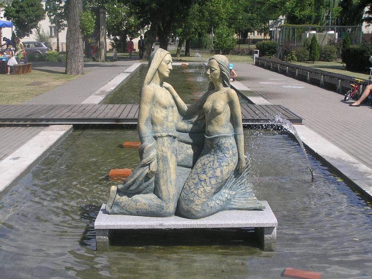 Rzeźba Wars iSawa wWarszawie