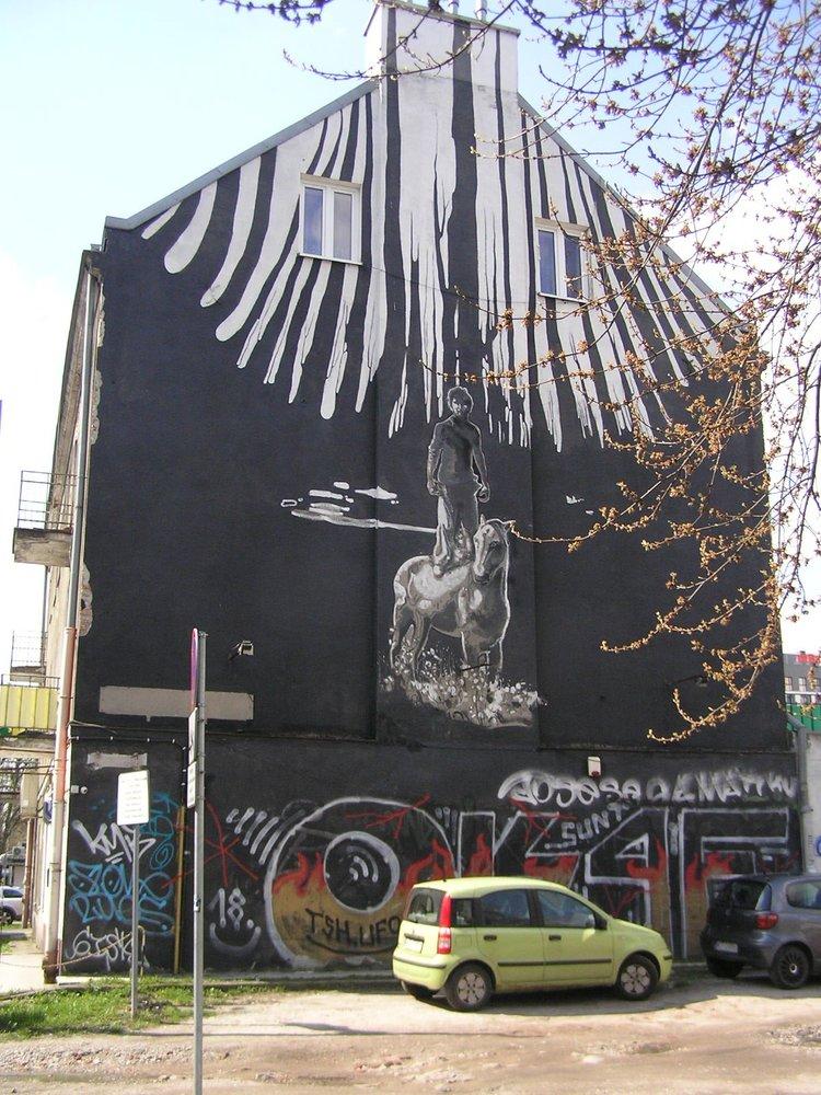 Mural Zalikierdo drom Męcińska 42