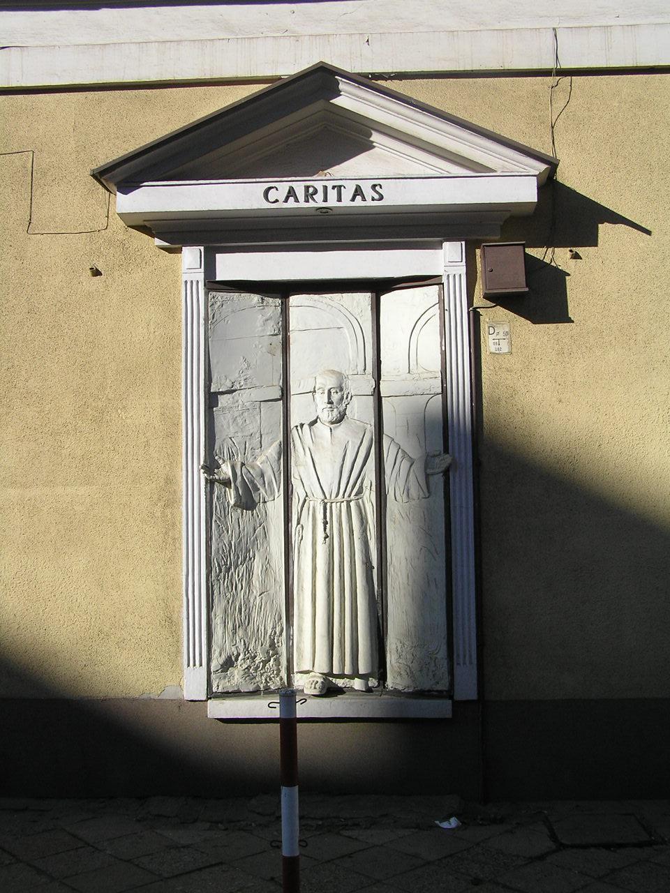 Rzeźba Brat Albert - Kawęczyńska 49