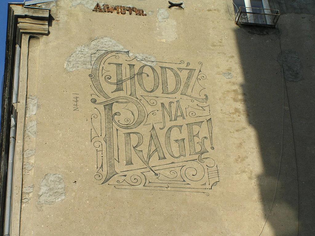 Mural Chodź na Pragę! 11 Listopada 44