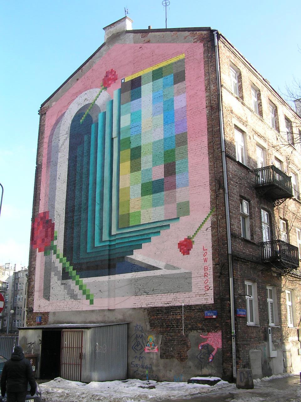 Mural Świątynia przy Małej 8