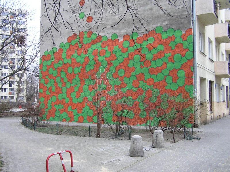 Panieńska 3 - Mural 'Marchewka zgroszkiem'