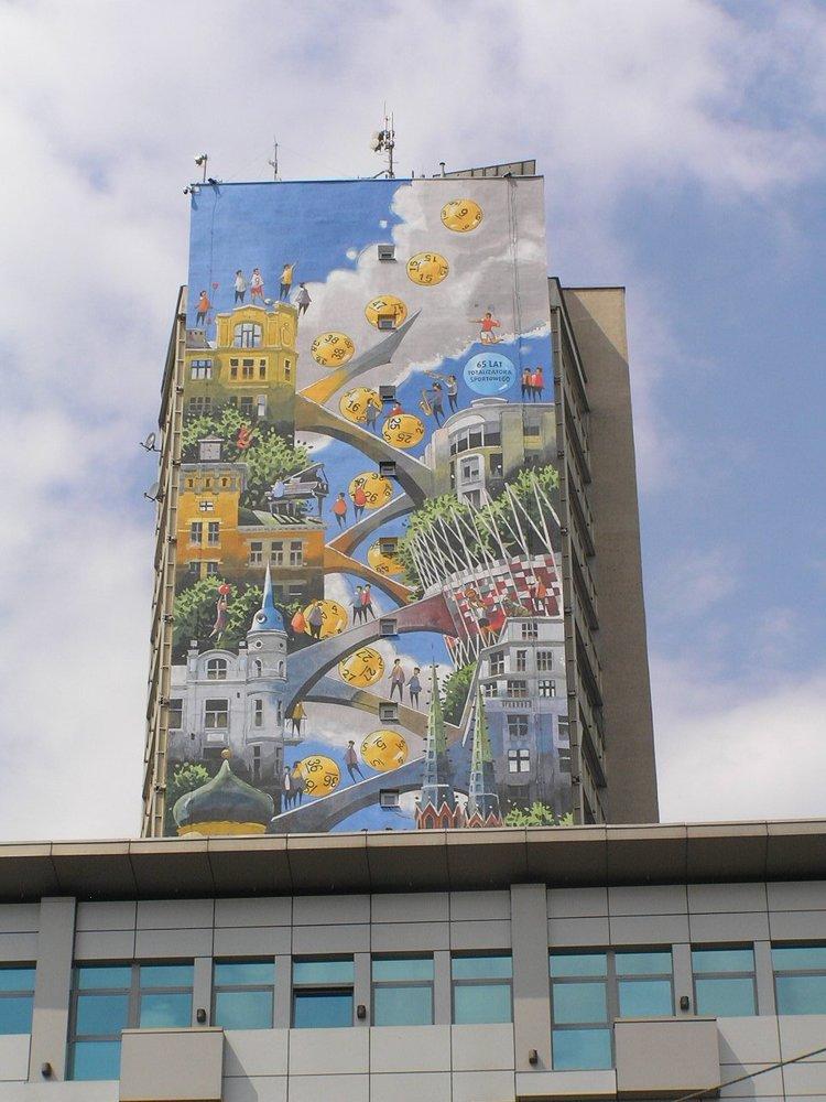 Targowa 26/30 - Mural