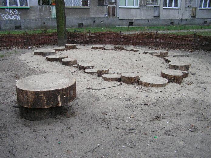 Plac zabaw - Panieńska 3