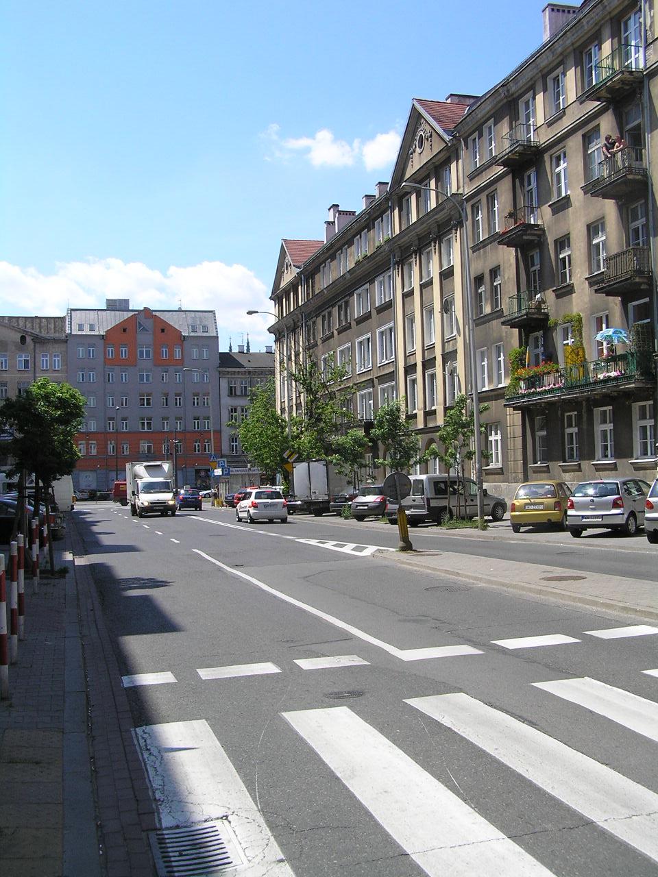 Ulica Białostocka wWarszawie