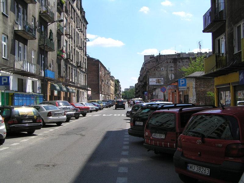 Ulica Brzeska wWarszawie