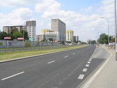 Ulica Bora-Komorowskiego wWarszawie
