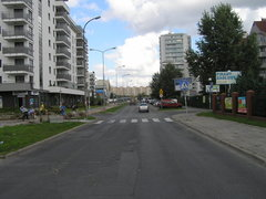 Ulica Rechniewskiego wWarszawie