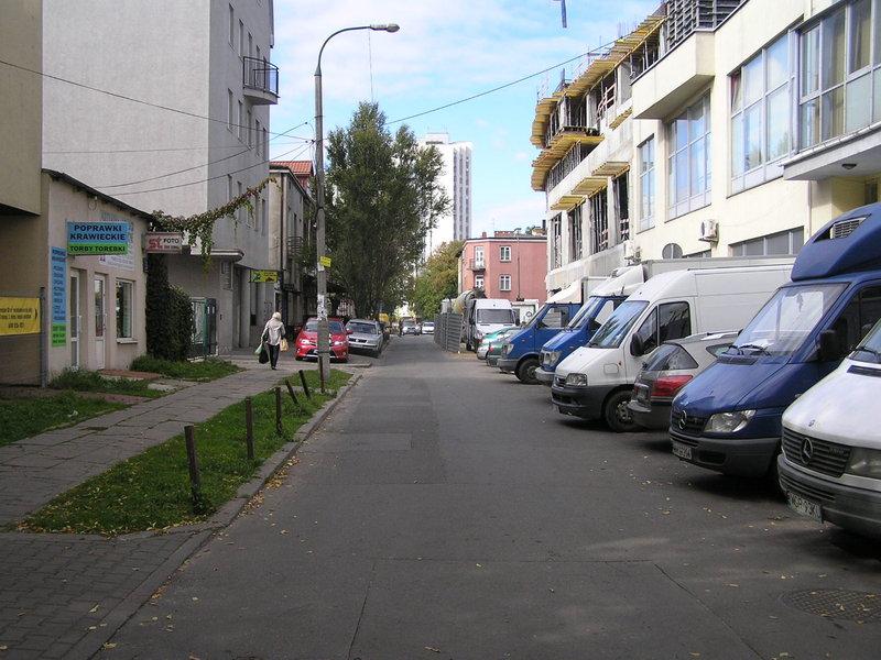 Ulica Gdecka wWarszawie