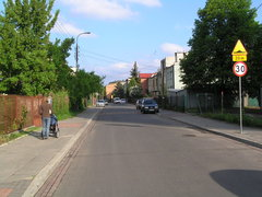Ulica Styrska na Gocławku