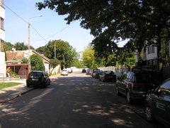 Ulica Tyśmienicka na Gocławku wWarszawie