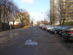 Ulica Komorska wWarszawie