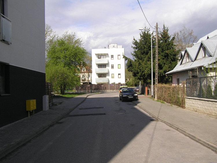 Ulica Łysogórska wWarszawie