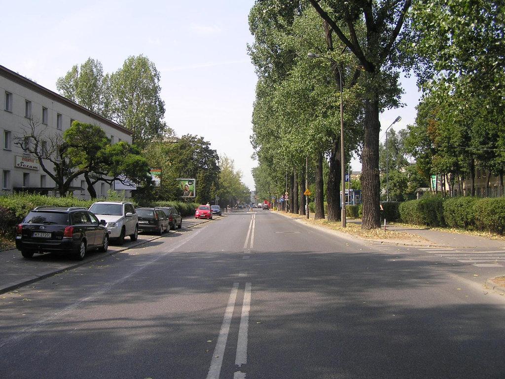 Ulica Grenadierów wWarszawie